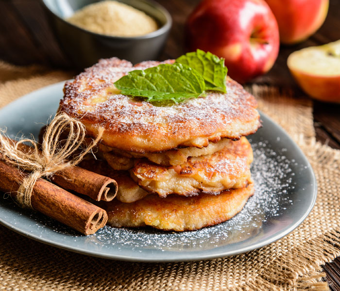 Camp Coffee Churro Pancakes