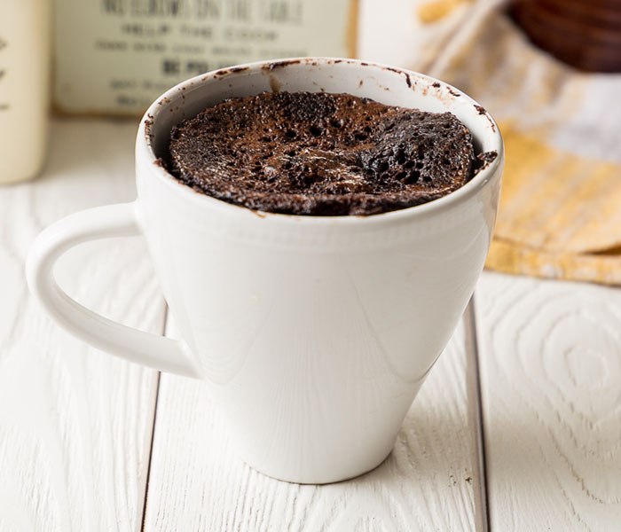 Camp Coffee Mug Cake