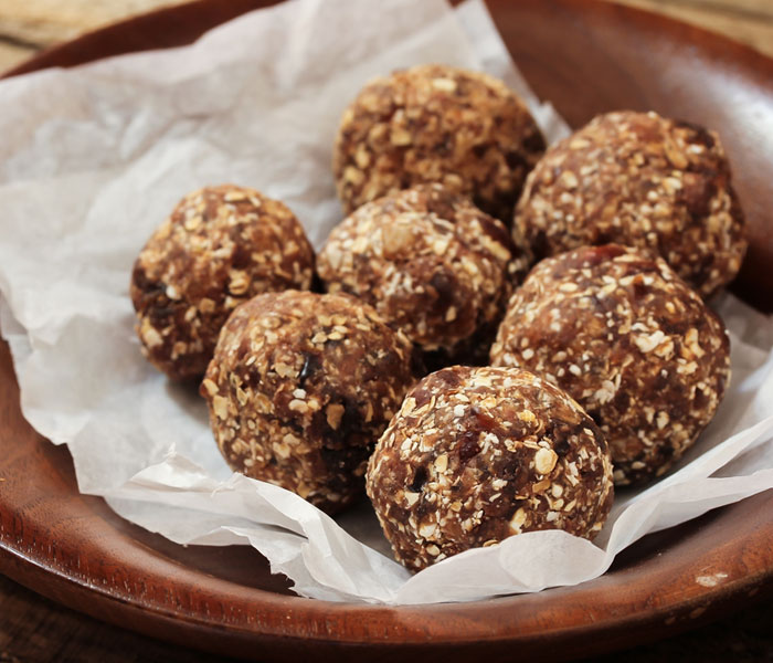 No Bake Camp Coffee Protein Balls