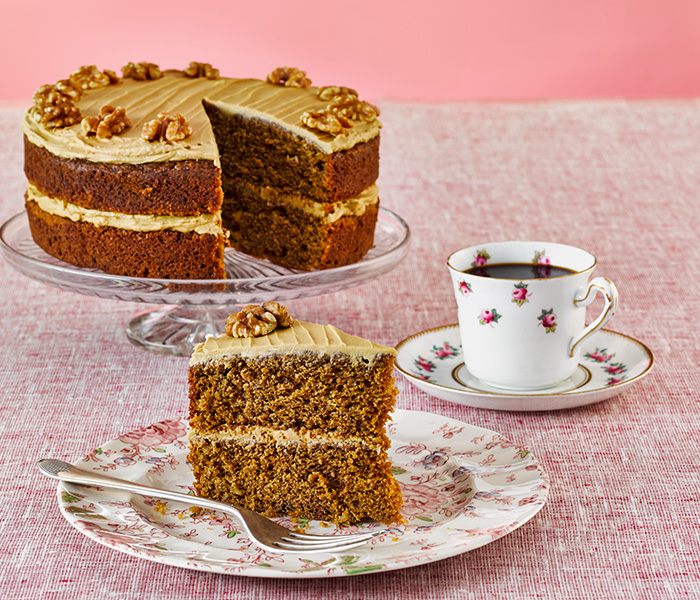 Camp Coffee and Walnut Cake