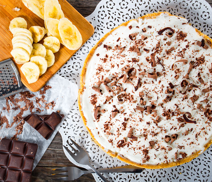 Camp Coffee Banoffee Pie