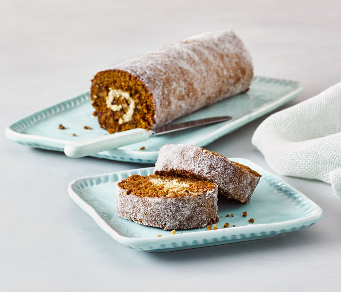 Camp Coffee Swiss Roll